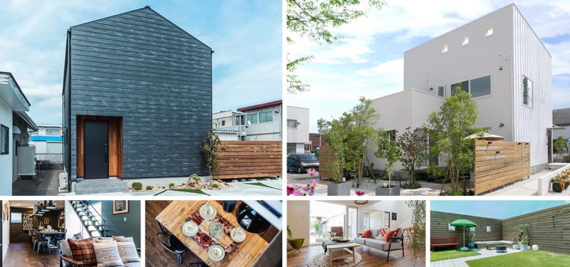 スタイルの異なる2棟を見比べよう!静岡モデルハウス内覧会