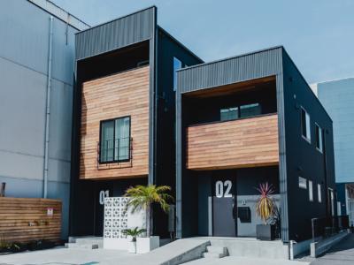 ZERO-CUBE MINI 空間を最大限に活かす、狭小地に建つ家